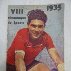 Colecionismo desportivo: ALMANAQUE DE SPORTS 1935. ALMANAQUE PORTUGUÉS DE TODOS LOS DEPORTES. Lote 209255257