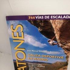 Coleccionismo deportivo: PATONES: CALIZA DEPORTIVA EN MADRID (PRIMERA EDICIÓN). Lote 209308415