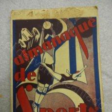 Coleccionismo deportivo: ALMANAQUE DE SPORTS PARA 1929. PORTUGAL. IDIOMA PORTUGUÉS. MUY ILUSTRADO. BOXEO-FOOTBALL.... Lote 209408285