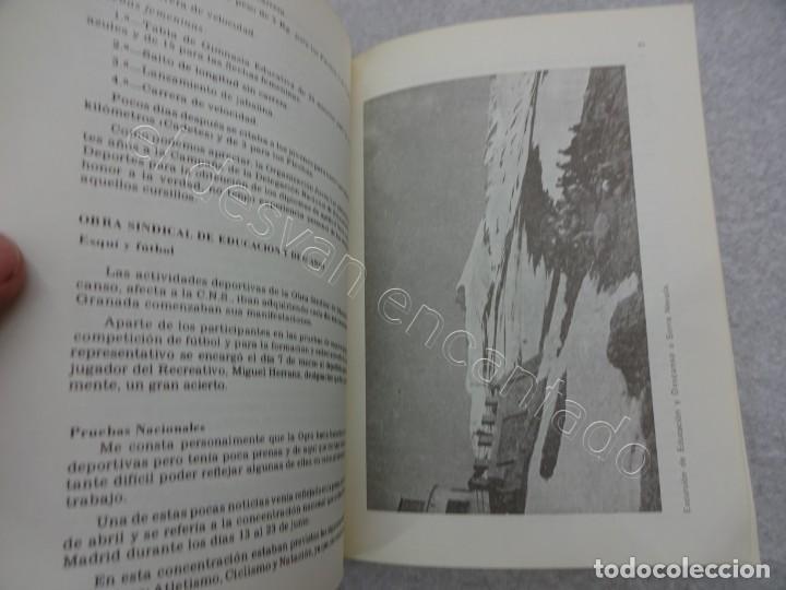 Coleccionismo deportivo: Raro Libro EL DEPORTE EN GRANADA. Miguel Rodrigo. 1979.580 pág. Con dedicatoria del autor - Foto 2 - 209579220