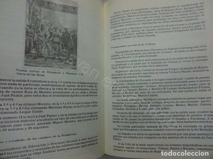 Coleccionismo deportivo: Raro Libro EL DEPORTE EN GRANADA. Miguel Rodrigo. 1979.580 pág. Con dedicatoria del autor - Foto 3 - 209579220