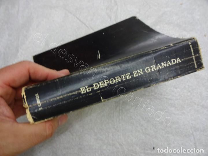 Coleccionismo deportivo: Raro Libro EL DEPORTE EN GRANADA. Miguel Rodrigo. 1979.580 pág. Con dedicatoria del autor - Foto 4 - 209579220