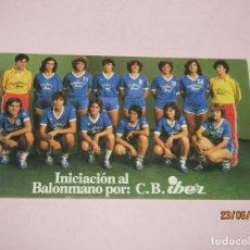 Coleccionismo deportivo: ANTIGUO LIBRITO *INICIACIÓN AL BALONMANO* POR EL C.B. IBER. Lote 209651490