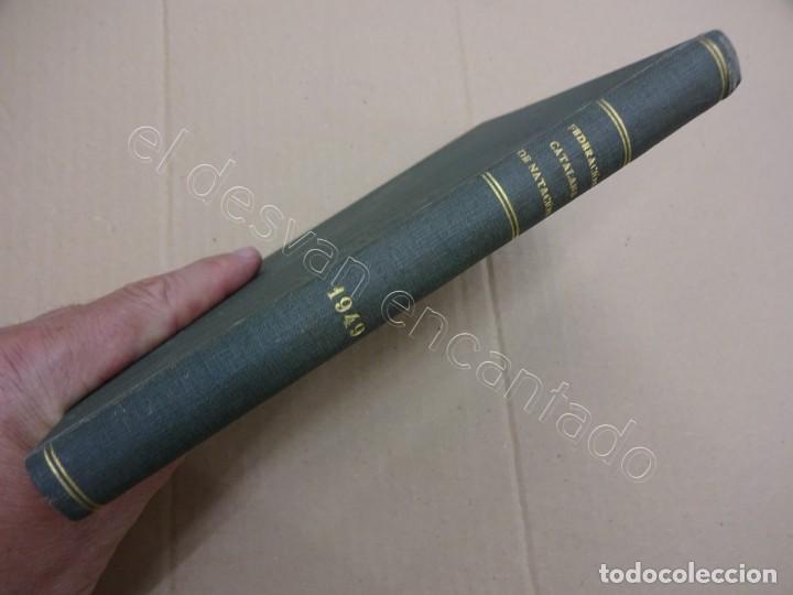Coleccionismo deportivo: FEDERACION CATALANA DE NATACION. Boletin año 1949 en un tomo. - Foto 5 - 209694455