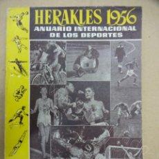 Coleccionismo deportivo: ANTIGUO ANUARIO: HERAKLES 1956 - MUNDO DEPORTIVO - ANUARIO INTERNACIONAL DE LOS DEPORTES. Lote 209742111