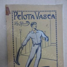 Coleccionismo deportivo: LIBRO COLECCION LOS SPORTS PELOTA VASCA. Lote 209744722