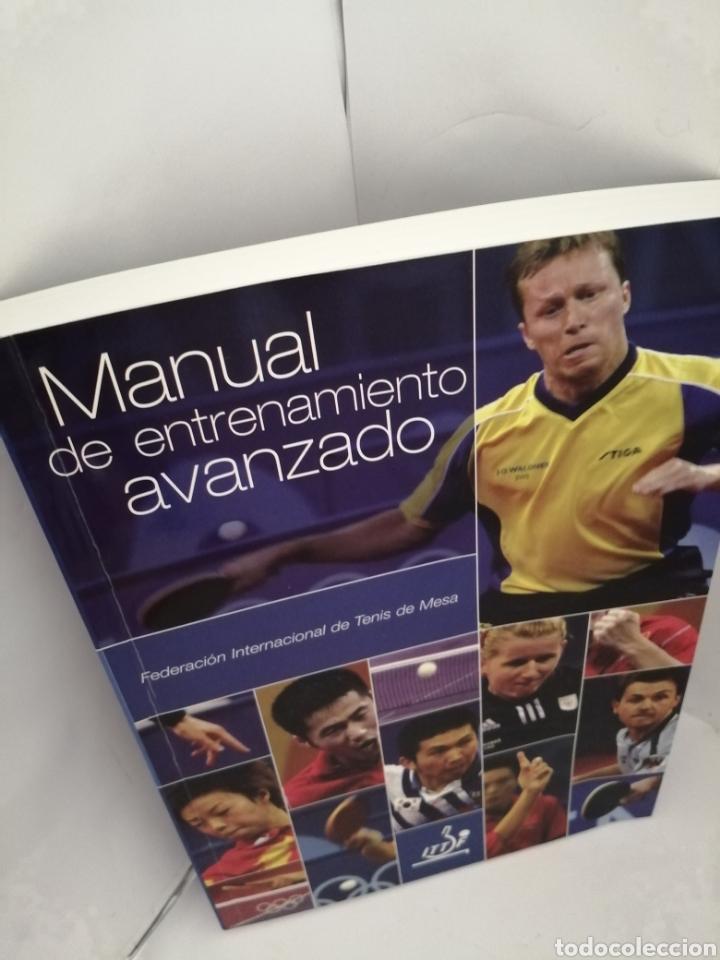 Coleccionismo deportivo: TENIS DE MESA. Manual de Entrenamiento Avanzado - Foto 3 - 209986951