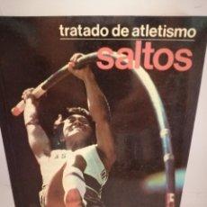 Coleccionismo deportivo: TRATADO DE ATLETISMO. SALTOS. TRIPLE, LONGITUD, ALTURA, PÉRTIGA. Lote 210164333