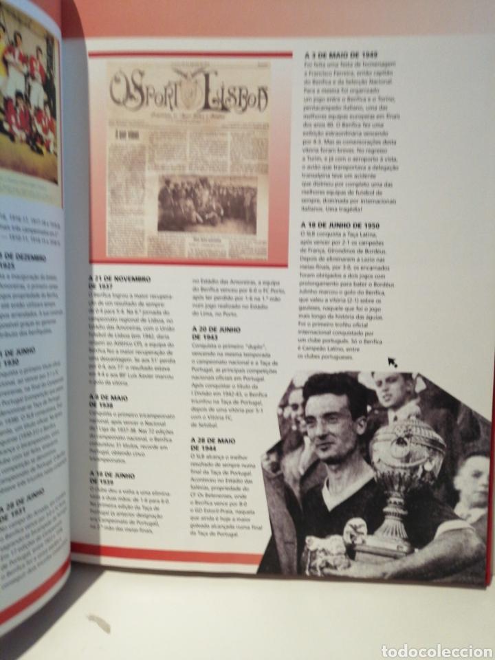Coleccionismo deportivo: GUINNESS WORLD RECORDS Deportes EDICION ESPECIAL BENFICA - Foto 2 - 211652881
