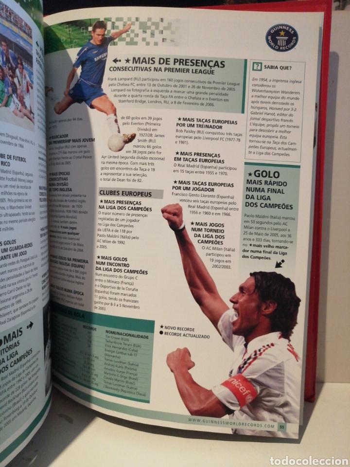 Coleccionismo deportivo: GUINNESS WORLD RECORDS Deportes EDICION ESPECIAL BENFICA - Foto 6 - 211652881