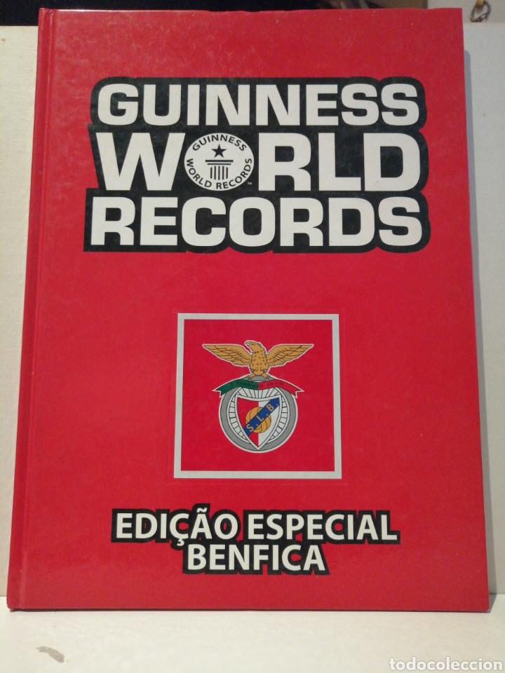 GUINNESS WORLD RECORDS DEPORTES EDICION ESPECIAL BENFICA (Coleccionismo Deportivo - Libros de Deportes - Otros)