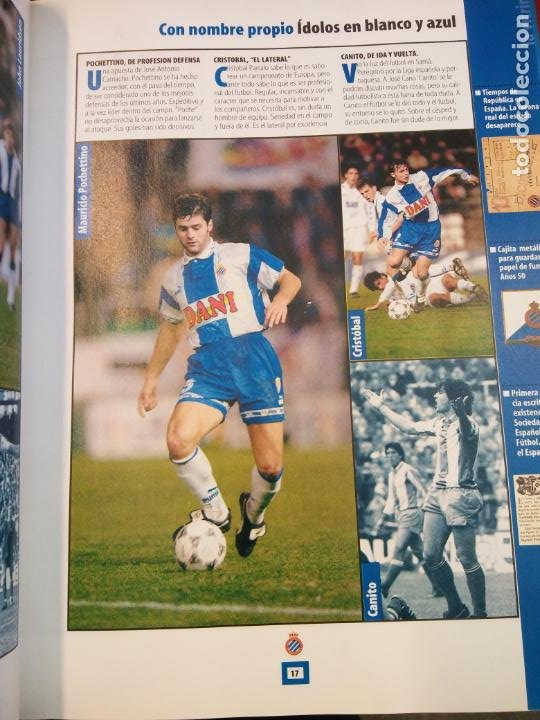 Coleccionismo deportivo: HEM FET ELS 100. RCD ESPANYOL 1900-2000. MANUEL FANLO. MUNDO DEPORTIVO - Foto 3 - 211663543