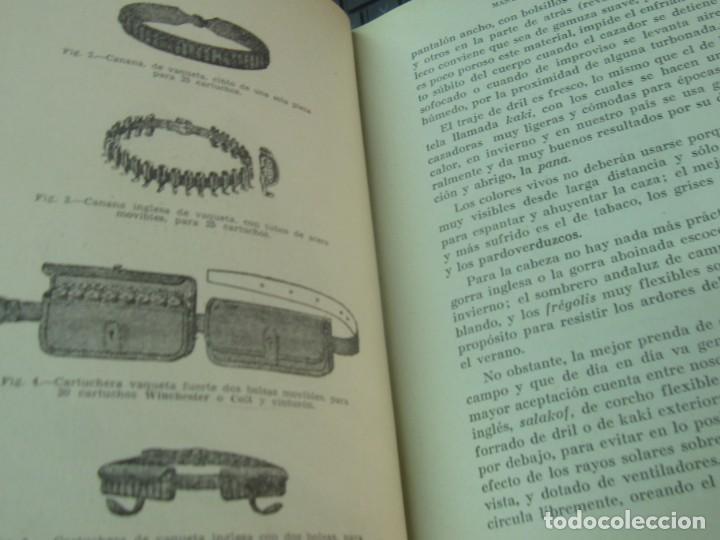 Coleccionismo deportivo: MANUAL DEL CAZADOR Y ADIESTRAMIENTO DEL PERRO DE MUESTRA VV.AA EDIT SINTES AÑOS 40 - Foto 5 - 211677500