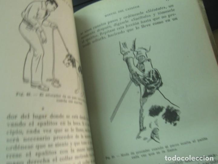 Coleccionismo deportivo: MANUAL DEL CAZADOR Y ADIESTRAMIENTO DEL PERRO DE MUESTRA VV.AA EDIT SINTES AÑOS 40 - Foto 11 - 211677500