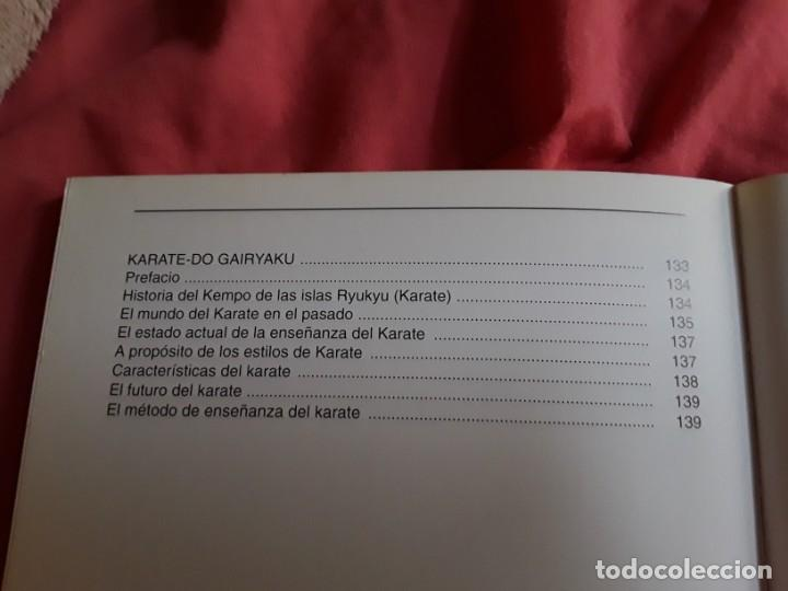 Coleccionismo deportivo: El Karate Gojuryu (Curso de karate), de Toshio Tamano. Artes marciales. Raro. - Foto 5 - 211667426