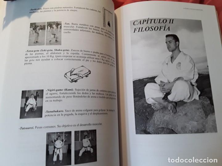 Coleccionismo deportivo: La puerta hacia el karate - do (Arte marcial y deporte), de Victor Lopez. Excelente estado. Escaso. - Foto 4 - 211668409