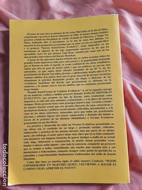 Coleccionismo deportivo: Kumite Kata (Formas de combate evolutivas), de Alfonso Riera. Artes marciales. Excelente estado. - Foto 2 - 211669038