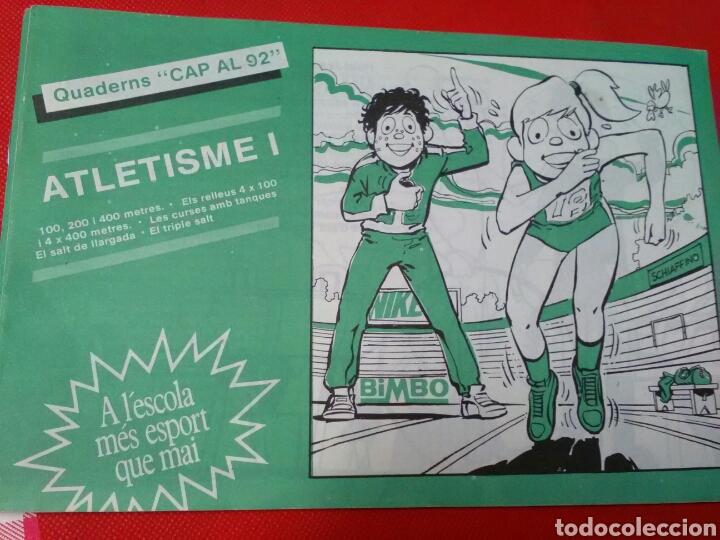 Coleccionismo deportivo: ATLETISME I II III .CAP AL 92 .A lescola mès esport que mai . - Foto 2 - 212639458