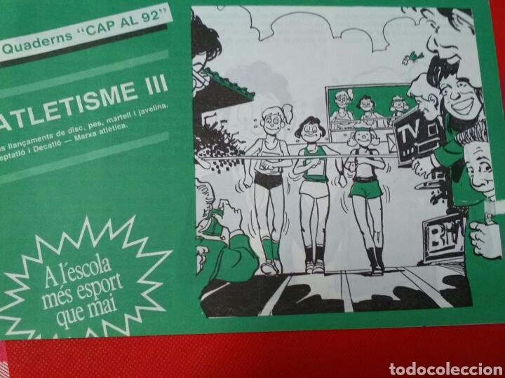 Coleccionismo deportivo: ATLETISME I II III .CAP AL 92 .A lescola mès esport que mai . - Foto 3 - 212639458