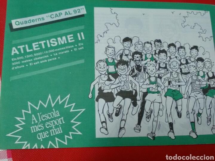 ATLETISME I II III .CAP AL 92 .A L'ESCOLA MÈS ESPORT QUE MAI . (Coleccionismo Deportivo - Libros de Deportes - Otros)