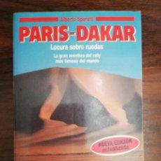 Coleccionismo deportivo: PARIS-DAKAR. LOCURA SOBRE RUEDAS. ALBERTO SPERATI +MOTOR 16 Nº 375 - DICIEMBRE 1990 - OBJETIVO DAKAR. Lote 139670630