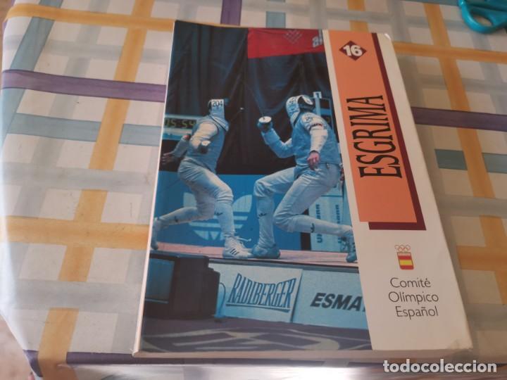 ESGRIMA COMITÉ OLÍMPICO ESPAÑOL REAL FEDERACIÓN ESPAÑOLA DE ESGRIMA 1ERA ED. 1993 (Coleccionismo Deportivo - Libros de Deportes - Otros)
