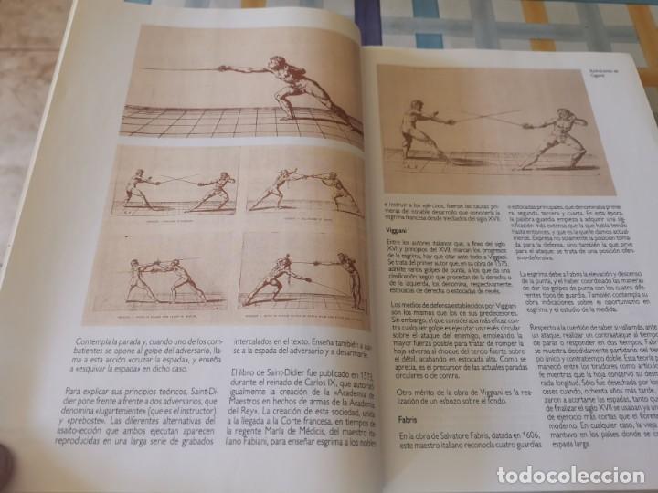 Coleccionismo deportivo: ESGRIMA COMITÉ OLÍMPICO ESPAÑOL REAL FEDERACIÓN ESPAÑOLA DE ESGRIMA 1ERA ED. 1993 - Foto 10 - 212790050