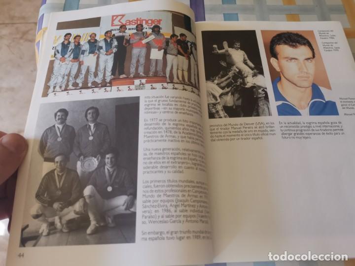 Coleccionismo deportivo: ESGRIMA COMITÉ OLÍMPICO ESPAÑOL REAL FEDERACIÓN ESPAÑOLA DE ESGRIMA 1ERA ED. 1993 - Foto 11 - 212790050