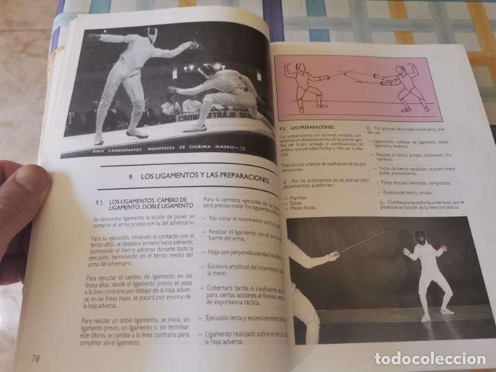 Coleccionismo deportivo: ESGRIMA COMITÉ OLÍMPICO ESPAÑOL REAL FEDERACIÓN ESPAÑOLA DE ESGRIMA 1ERA ED. 1993 - Foto 12 - 212790050