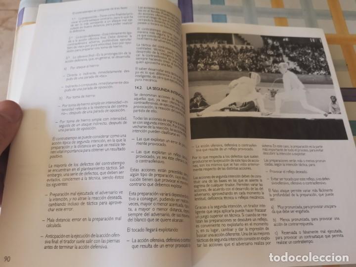 Coleccionismo deportivo: ESGRIMA COMITÉ OLÍMPICO ESPAÑOL REAL FEDERACIÓN ESPAÑOLA DE ESGRIMA 1ERA ED. 1993 - Foto 13 - 212790050