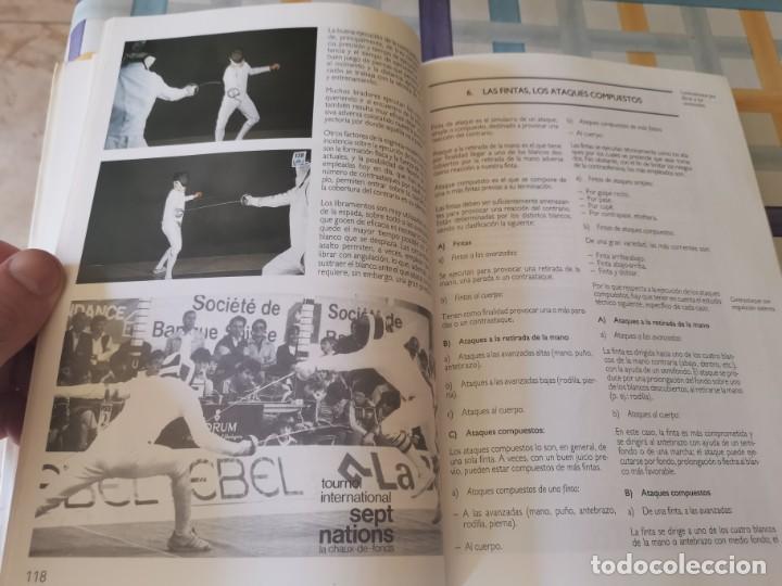 Coleccionismo deportivo: ESGRIMA COMITÉ OLÍMPICO ESPAÑOL REAL FEDERACIÓN ESPAÑOLA DE ESGRIMA 1ERA ED. 1993 - Foto 14 - 212790050
