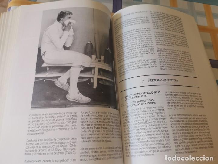 Coleccionismo deportivo: ESGRIMA COMITÉ OLÍMPICO ESPAÑOL REAL FEDERACIÓN ESPAÑOLA DE ESGRIMA 1ERA ED. 1993 - Foto 17 - 212790050
