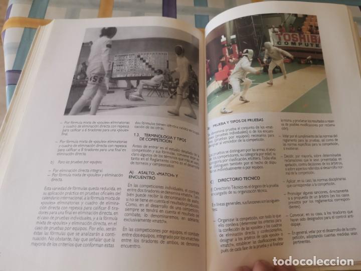 Coleccionismo deportivo: ESGRIMA COMITÉ OLÍMPICO ESPAÑOL REAL FEDERACIÓN ESPAÑOLA DE ESGRIMA 1ERA ED. 1993 - Foto 20 - 212790050