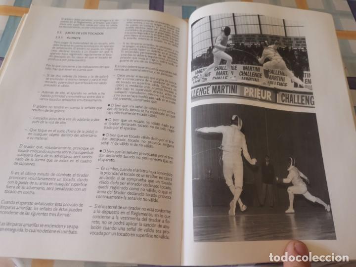 Coleccionismo deportivo: ESGRIMA COMITÉ OLÍMPICO ESPAÑOL REAL FEDERACIÓN ESPAÑOLA DE ESGRIMA 1ERA ED. 1993 - Foto 21 - 212790050