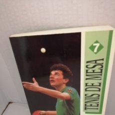 Coleccionismo deportivo: TENIS DE MESA. Lote 213457830