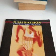 Coleccionismo deportivo: G-23 LIBRO X MARATHON INTERNACIONAL CIUDAD DE JEREZ MARATON 1997. Lote 213501845