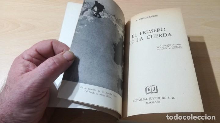 Coleccionismo deportivo: EL PRIMERO DE LA CUERDA - ROGER FRISON - JUVENTUD - ESCULTISMO MONTAÑA E-501 - Foto 3 - 215455141