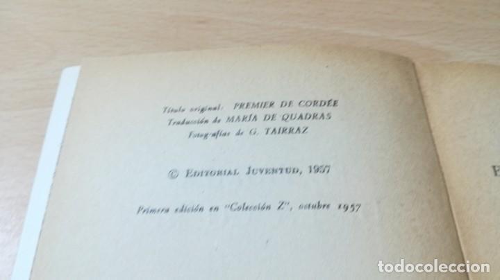 Coleccionismo deportivo: EL PRIMERO DE LA CUERDA - ROGER FRISON - JUVENTUD - ESCULTISMO MONTAÑA E-501 - Foto 6 - 215455141