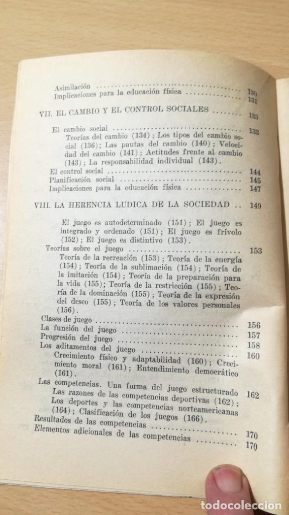 Coleccionismo deportivo: FUNDAMENTOS SOCIALES DE LA EDUCACION FISICA - PAIDOS - CELESTE ULRICH K204 - Foto 10 - 215480096
