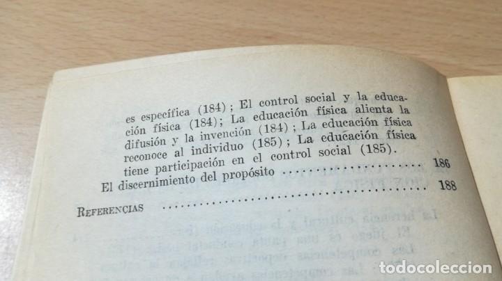 Coleccionismo deportivo: FUNDAMENTOS SOCIALES DE LA EDUCACION FISICA - PAIDOS - CELESTE ULRICH K204 - Foto 12 - 215480096