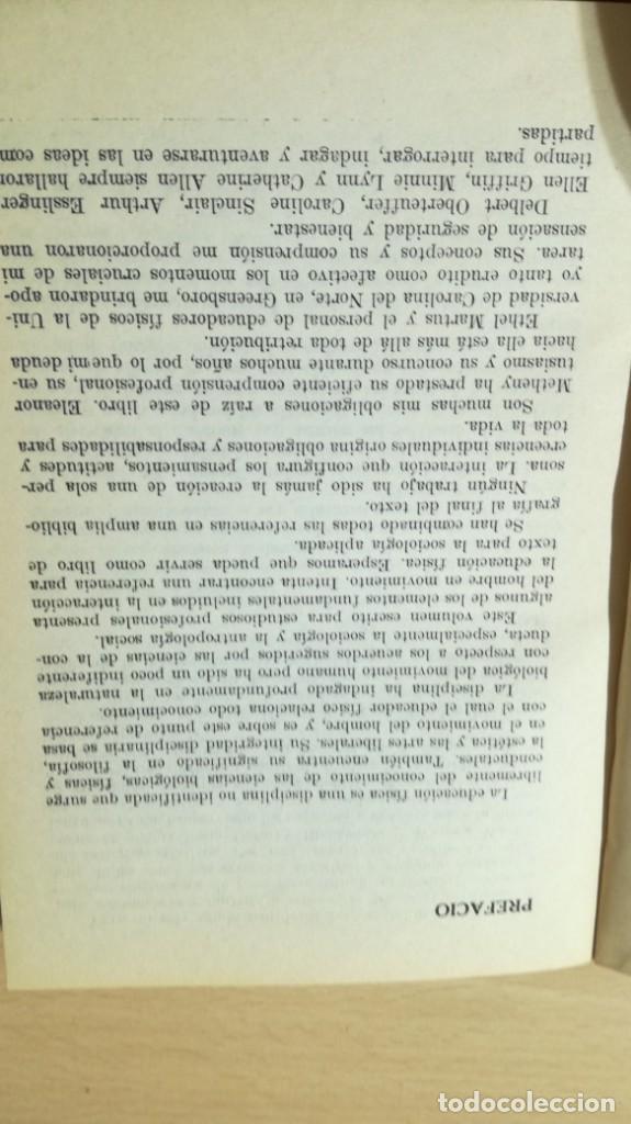 Coleccionismo deportivo: FUNDAMENTOS SOCIALES DE LA EDUCACION FISICA - PAIDOS - CELESTE ULRICH K204 - Foto 13 - 215480096
