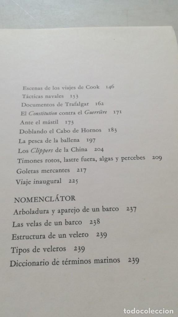 Coleccionismo deportivo: LA AVENTURA DE LA VELA - CAPINTAN DONALD MACINTYRE Z601 - Foto 10 - 215481340