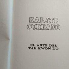 Coleccionismo deportivo: KARATE COREANO, EL ARTE DEL TAE KWON DO, EDITORIAL DIANA, PYMY 7. Lote 216382573