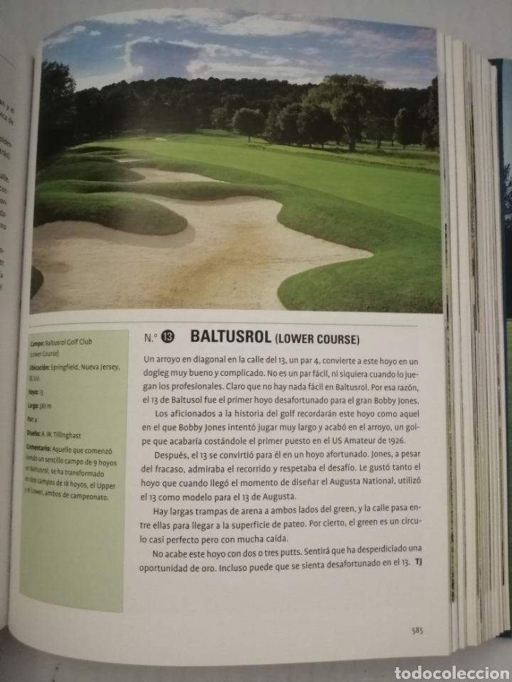 Coleccionismo deportivo: 1001 hoyos de golf que debes jugar antes de morir - Foto 4 - 216652883