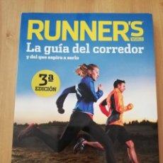 Coleccionismo deportivo: RUNNER'S WORLD. LA GUÍA DEL CORREDOR Y DEL QUE ASPIRA A SERLO (3ª EDICIÓN). Lote 216792798