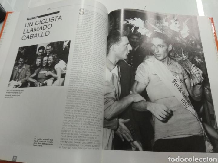 Coleccionismo deportivo: LA GRAN HISTORIA DEL TOUR 1903-1988 EL MUNDO FABULOSO DEL CICLISMO A FONDO ILUSTRADO - Foto 5 - 217717298