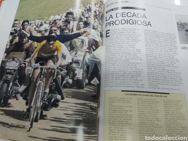Coleccionismo deportivo: LA GRAN HISTORIA DEL TOUR 1903-1988 EL MUNDO FABULOSO DEL CICLISMO A FONDO ILUSTRADO - Foto 6 - 217717298