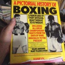 Coleccionismo deportivo: A PICTORIAL HISTORY OF BOXING, 1979, HAMLYN, BUEN ESTADO. Lote 218249385