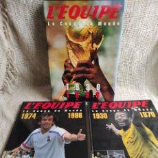 Coleccionismo deportivo: L'EQUIPE LA COUPE DU MONDE - 1930 - 1998 /EDITA: L'EQUIPE /AÑO: 1998 EDICION EN FRANCES. Lote 25557996