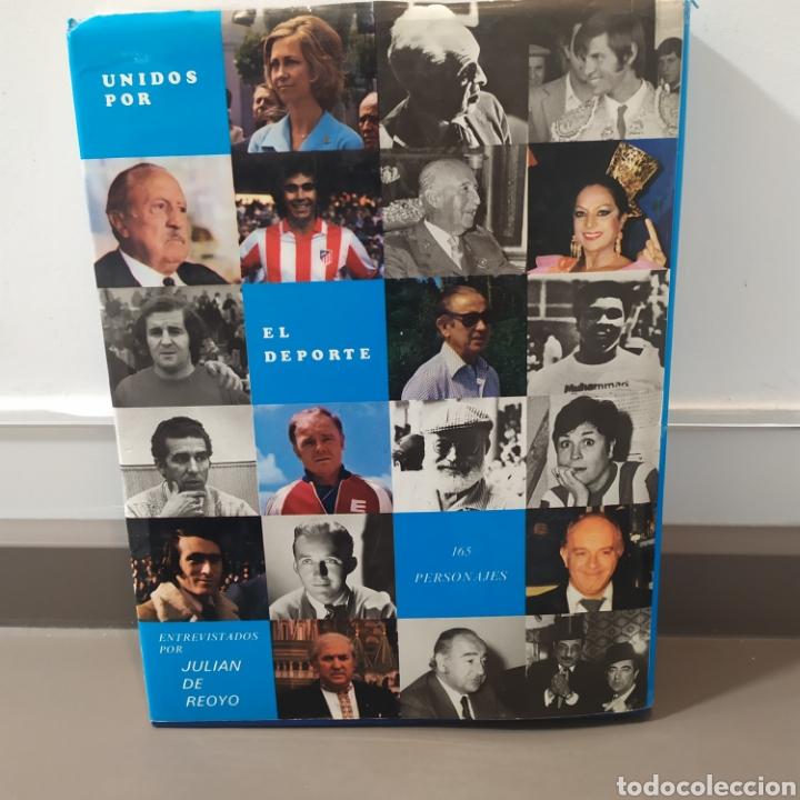 Coleccionismo deportivo: JULIÁN DE REOYO, Unidos por el deporte. desde un caballo al Papa., Editorial TAXCO, 1983.ED LIMITADA - Foto 2 - 218850048